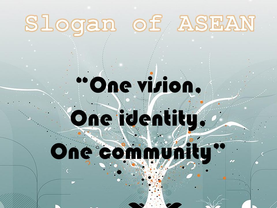 One vision, One identity, One community
