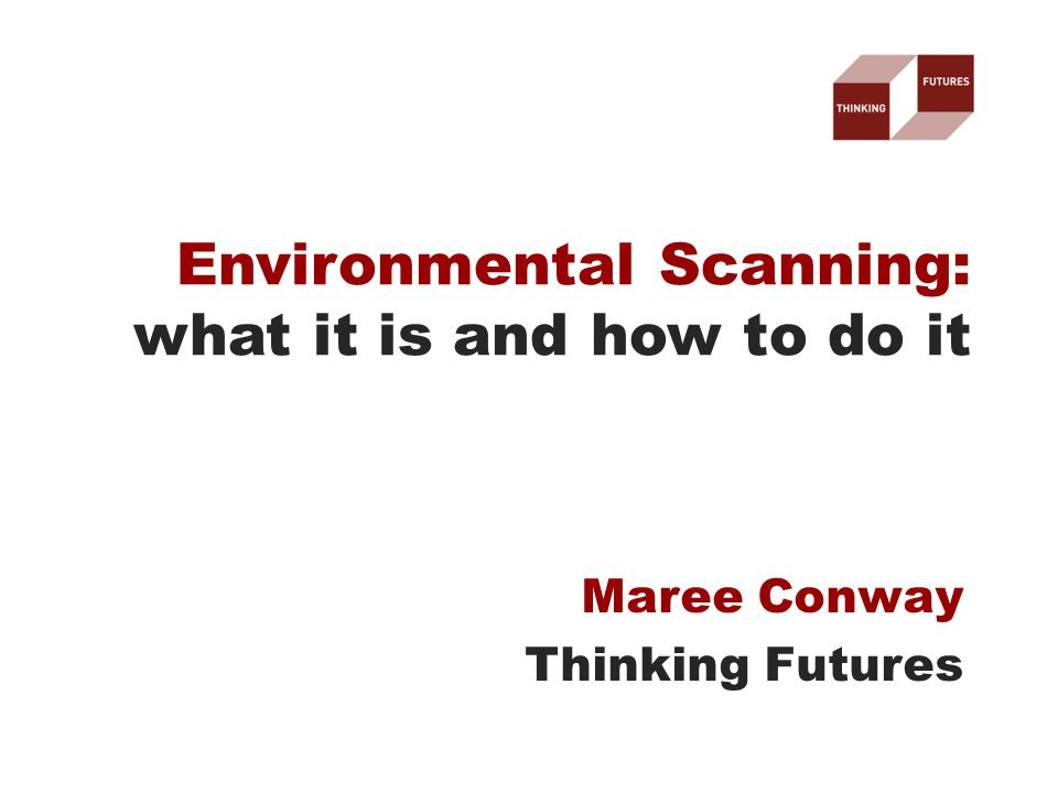 Maree Conway Thinking Futures