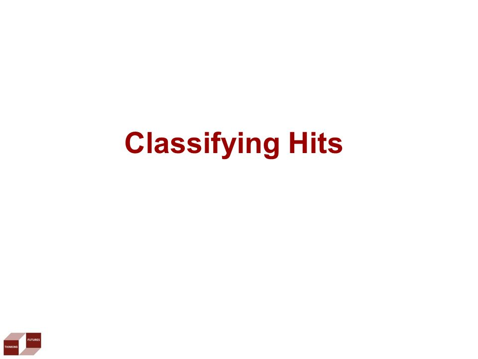 Classifying Hits