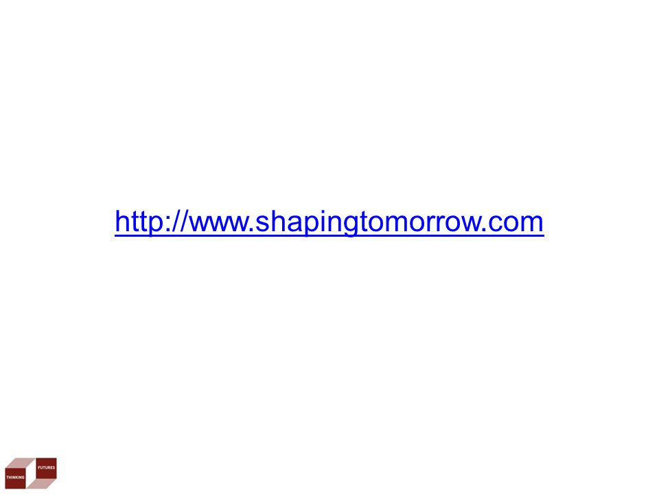 http://www.shapingtomorrow.com