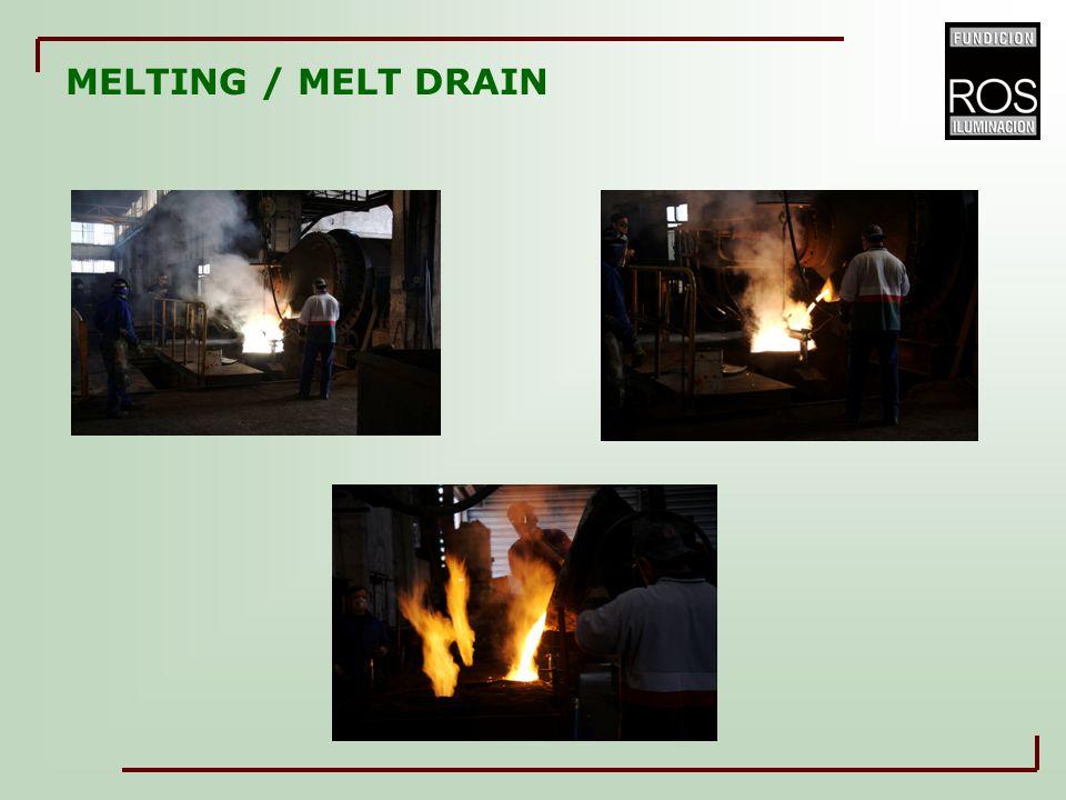 MELTING / MELT DRAIN