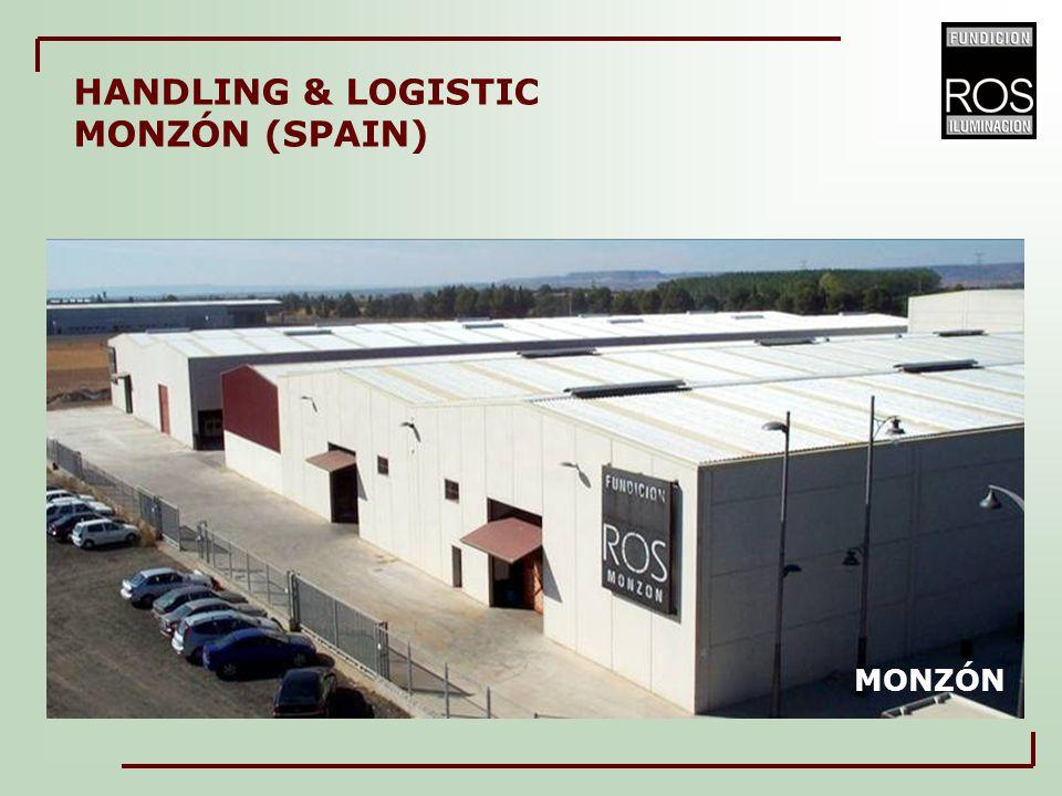 MONZÓN HANDLING & LOGISTIC MONZÓN (SPAIN)