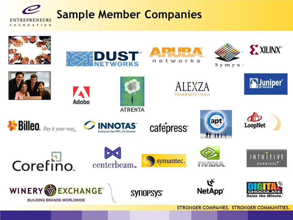 Representative Samples of Services Established the company's philanthropic fund with pre-IPO equity, provided resources and developed partnership to implement a matching gift program, surveyed employees for interests and involvement, connected company to local non profits within their interest areas.