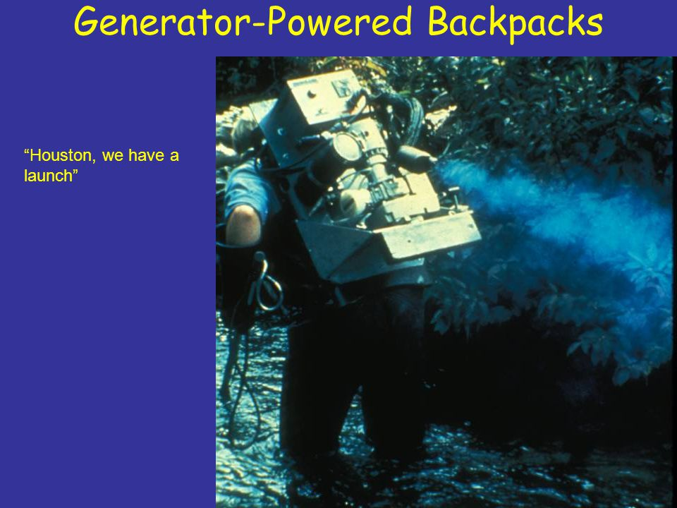 Generator-Powered Backpacks Houston, we have a launch