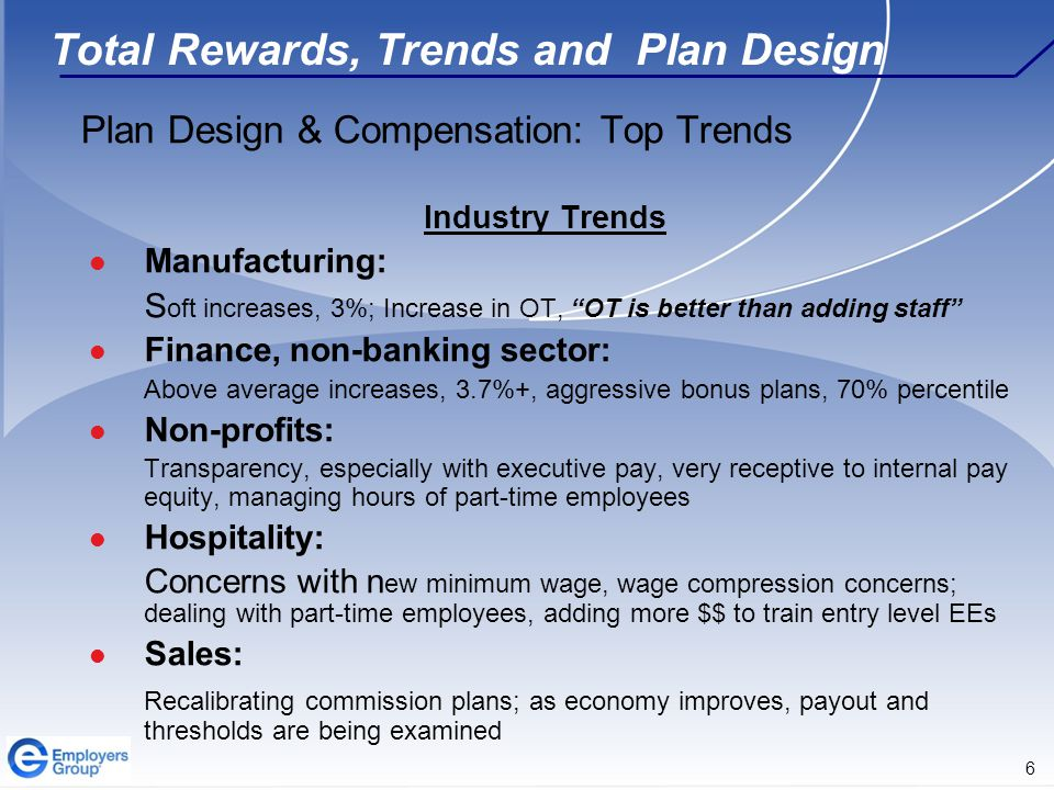 17 Total Rewards, Trends and Plan Design Thank you!!.