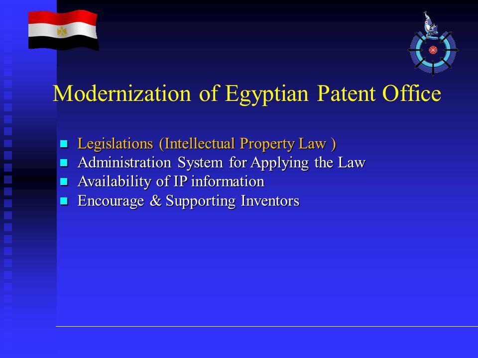 Legislations (Intellectual Property Law ) Legislations (Intellectual Property Law ) Administration System for Applying the Law Administration System f