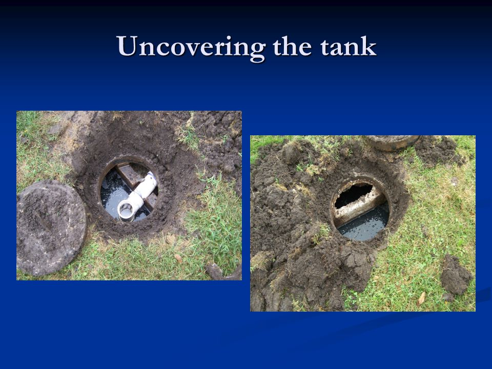 Inspecting tanks