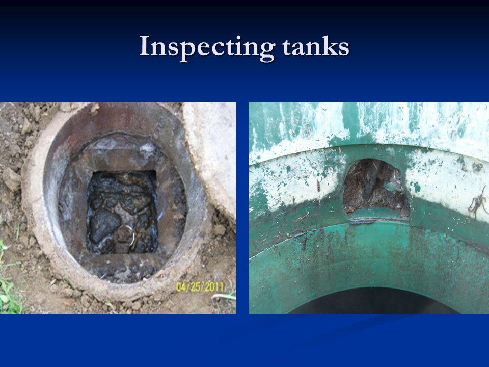 Pump/siphon tanks
