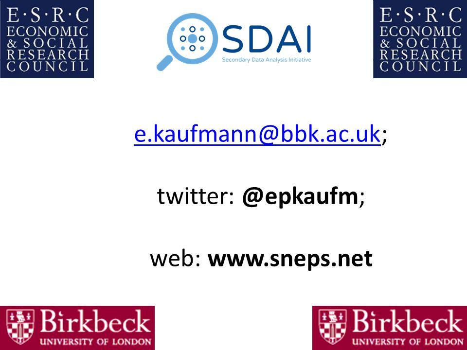 e.kaufmann@bbk.ac.uke.kaufmann@bbk.ac.uk; twitter: @epkaufm; web: www.sneps.net