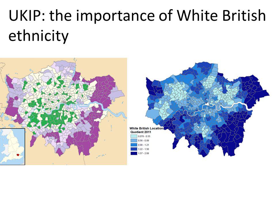 UKIP: the importance of White British ethnicity