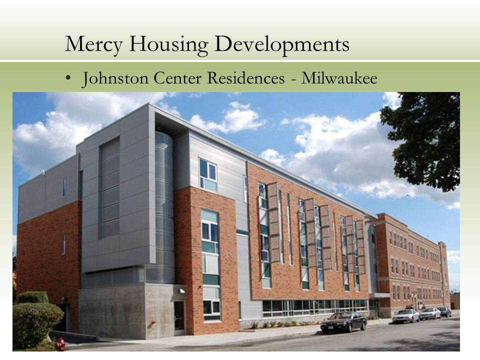 Mercy Housing Developments Johnston Center Residences - Milwaukee
