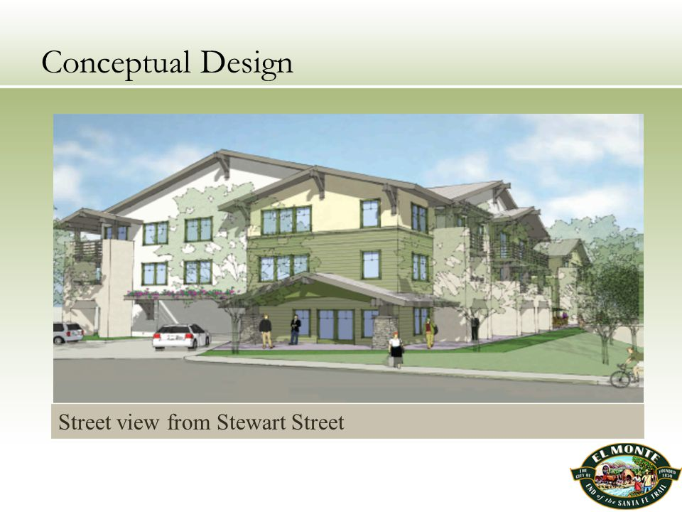 Conceptual Design Street view from Stewart Street