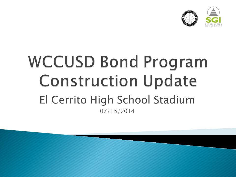 El Cerrito High School Stadium 07/15/2014