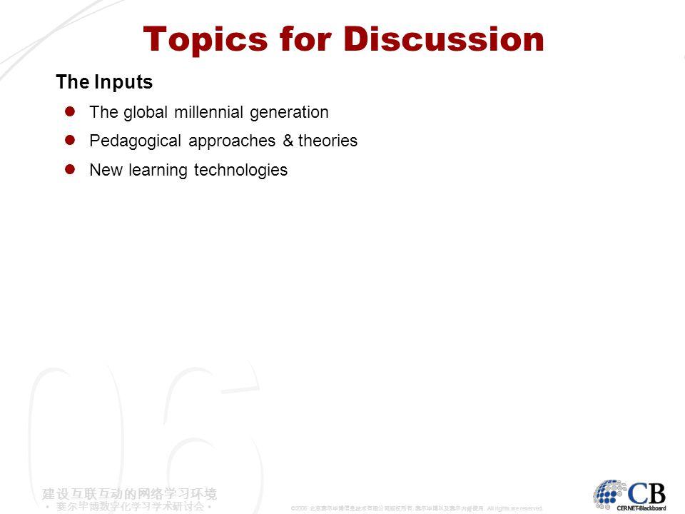 6 6 0 0 建设互联互动的网络学习环境 赛尔毕博数字化学习学术研讨会 ©2006 北京赛尔毕博信息技术有限公司版权所有.