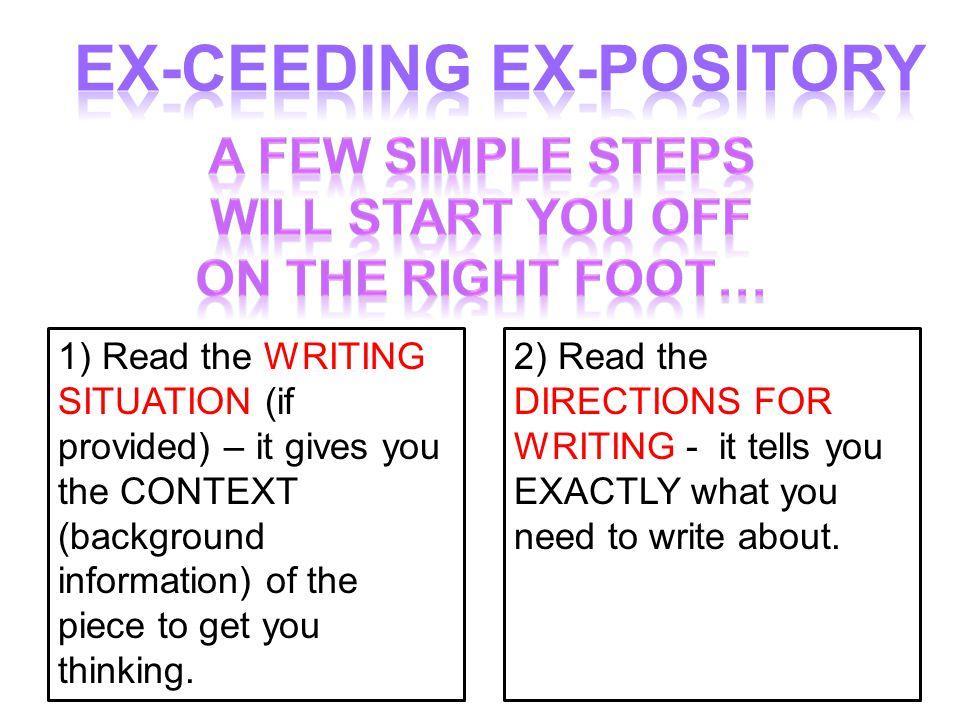 Then, you ATTACK! 1) FATP2) Specific Words 3) Brainstorm-Topics4) Brainstorm-Details