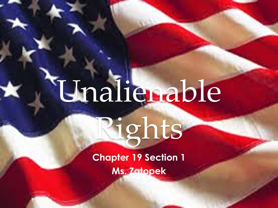 9 th Amendment The enumeration in the Constitution, of certain rights, shall not be construed to deny or disparage others retained by the people. NOWHERE in the Constitution, or anywhere else, is there a complete list of all of the rights held by the American people.