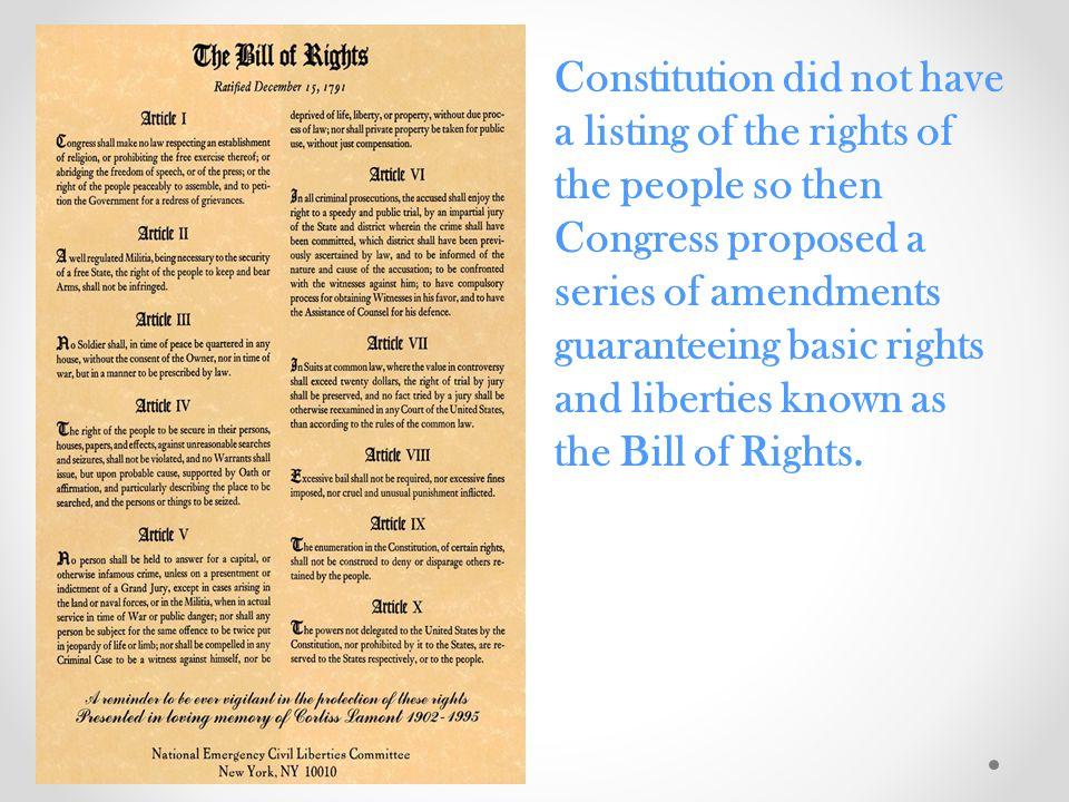 Civil Liberties vs.