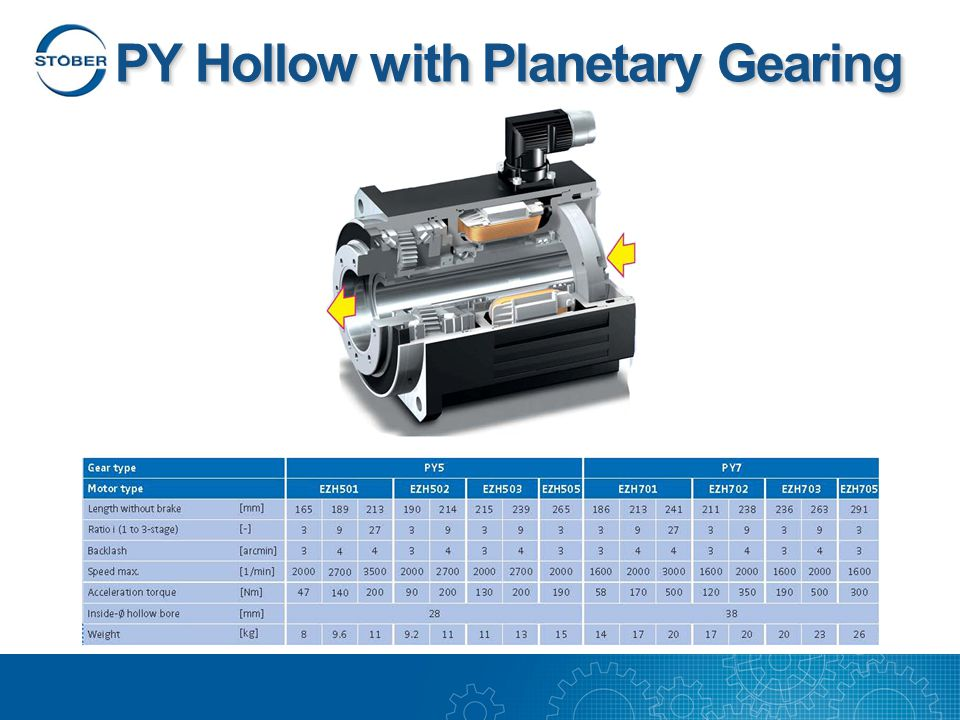 PY Hollow with Planetary Gearing