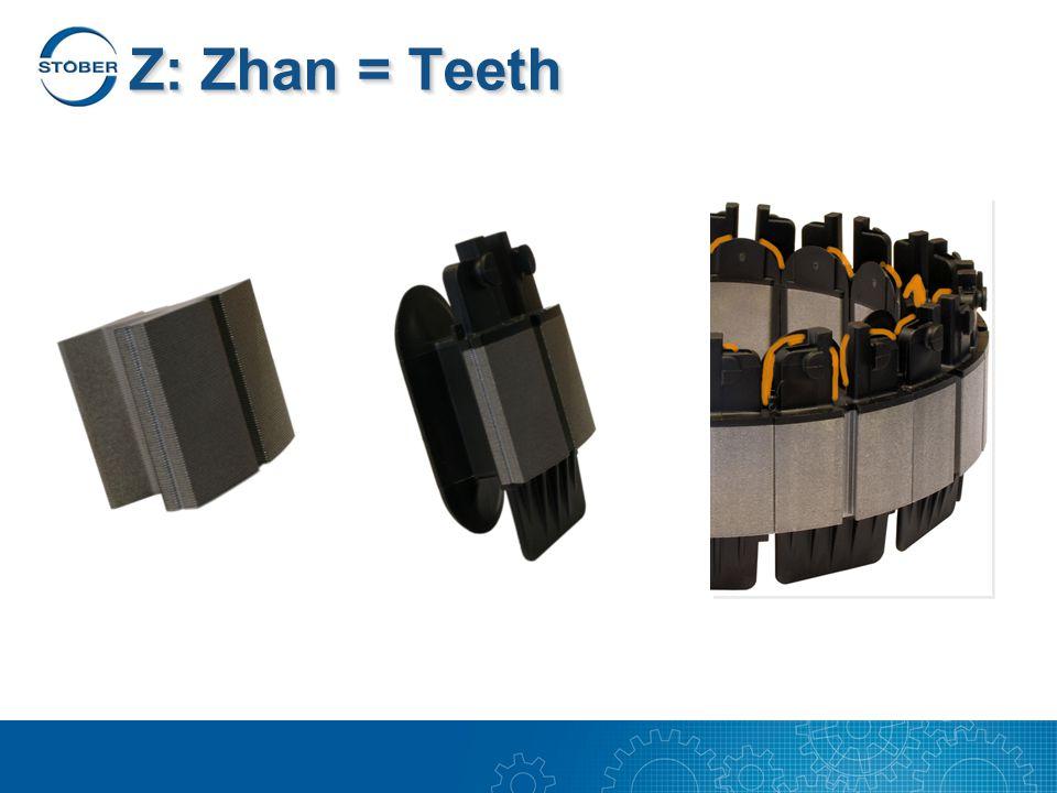 Z: Zhan = Teeth