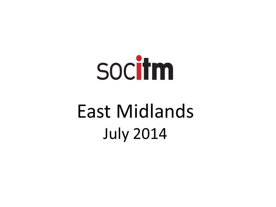 East Midlands July 2014