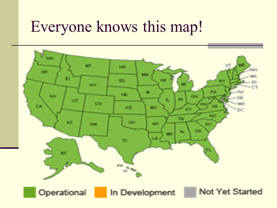 Everyone knows this map!