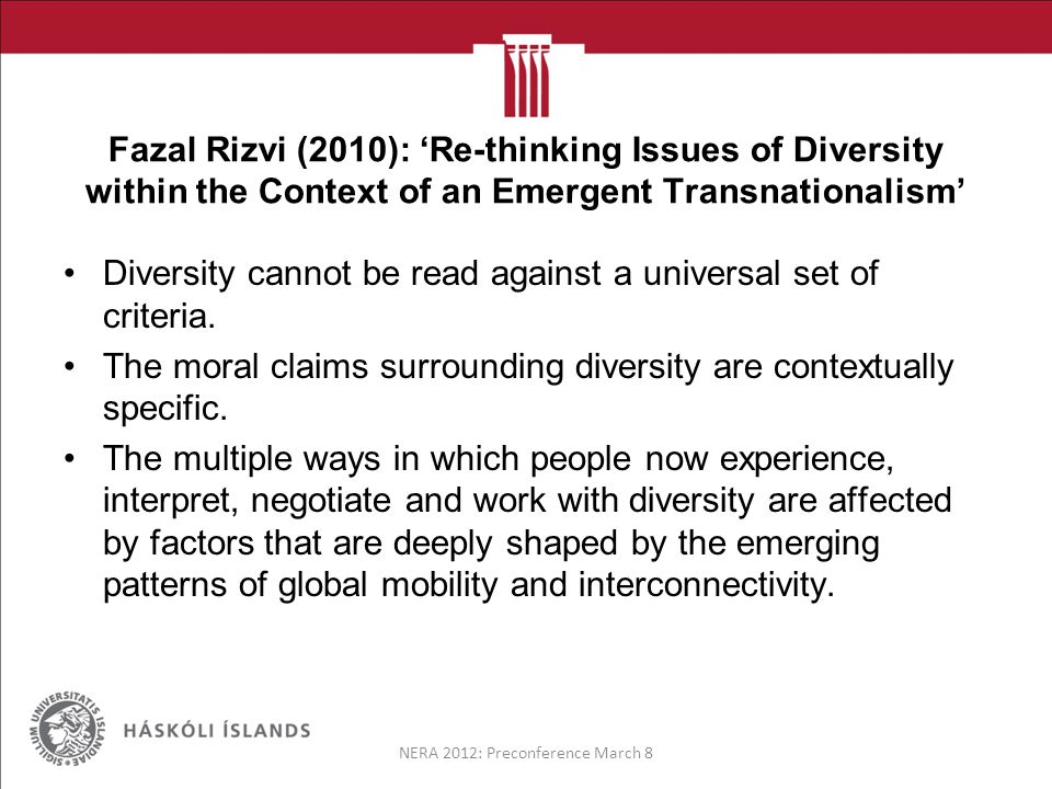Intersectionality The theory of Intersectionality seeks to examine the ways in which various socially and culturally constructed categories interact on multiple levels to manifest themselves as inequality in society.