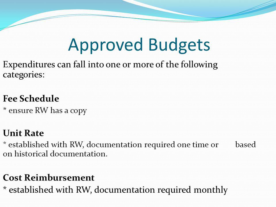 Submitting Monthly Invoices & Paperwork Submit via email: In PDF: Cover Page, signed Financial Report, signed Support Documents – payroll, proof of payment bills, etc.
