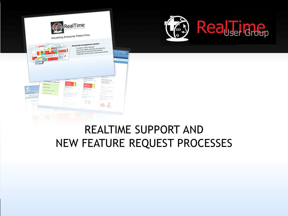 REALTIME SUPPORT AND NEW FEATURE REQUEST PROCESSES