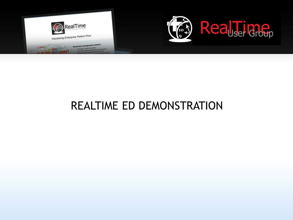 REALTIME ED DEMONSTRATION