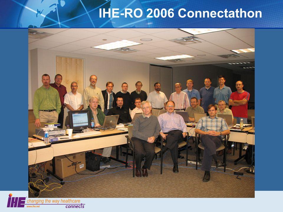 IHE-RO 2006 Connectathon