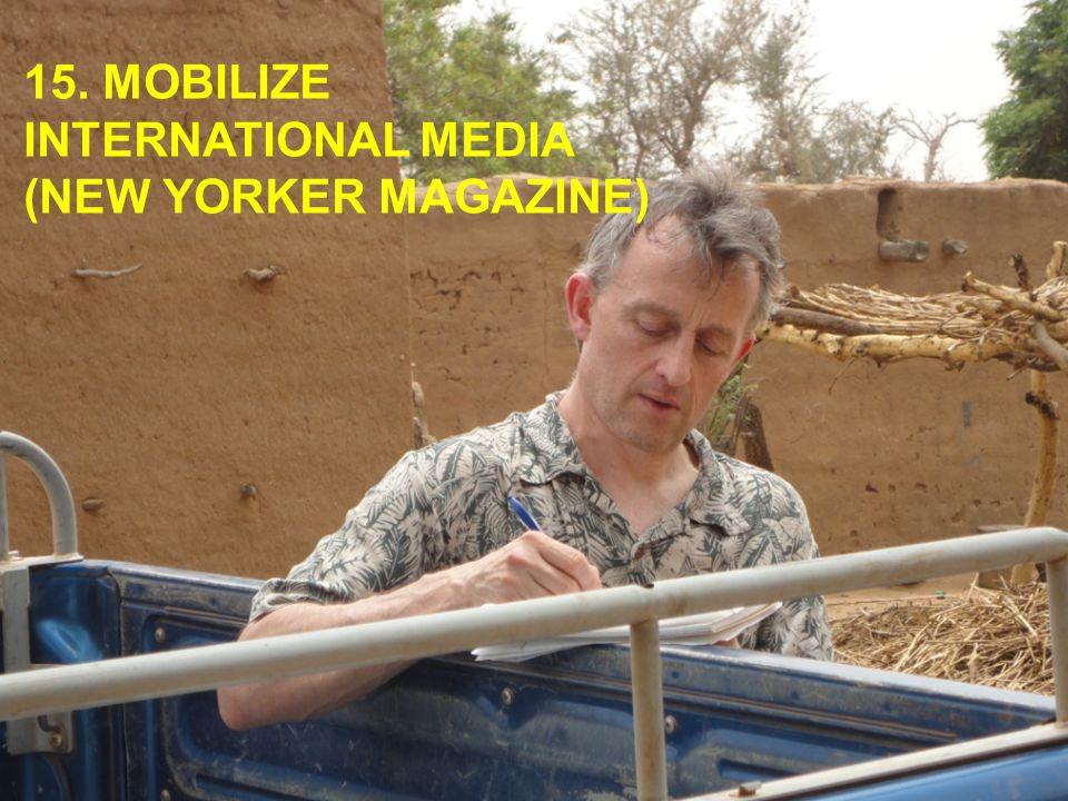15. MOBILIZE INTERNATIONAL MEDIA (NEW YORKER MAGAZINE)
