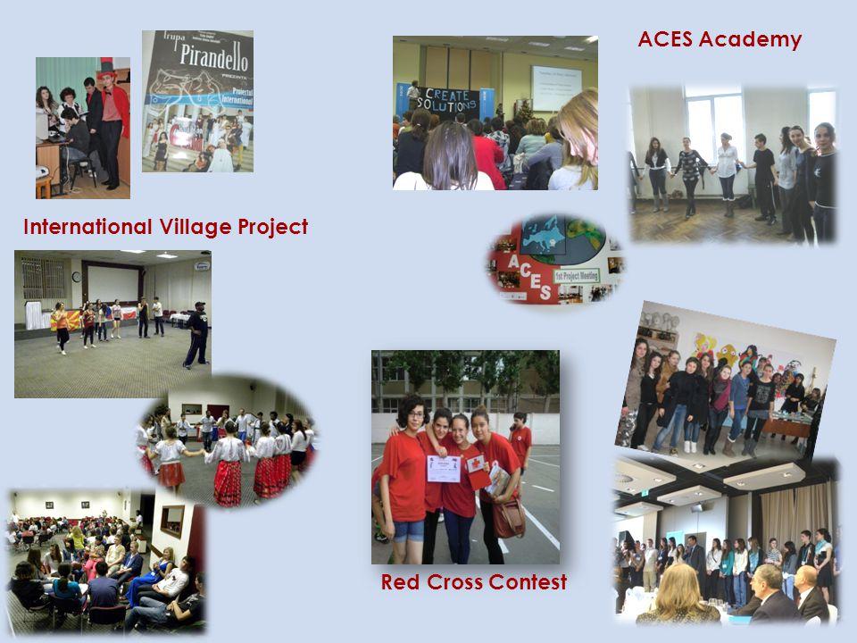 ACES Academy International Village Project Red Cross Contest