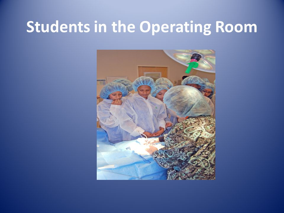 Students in the Operating Room