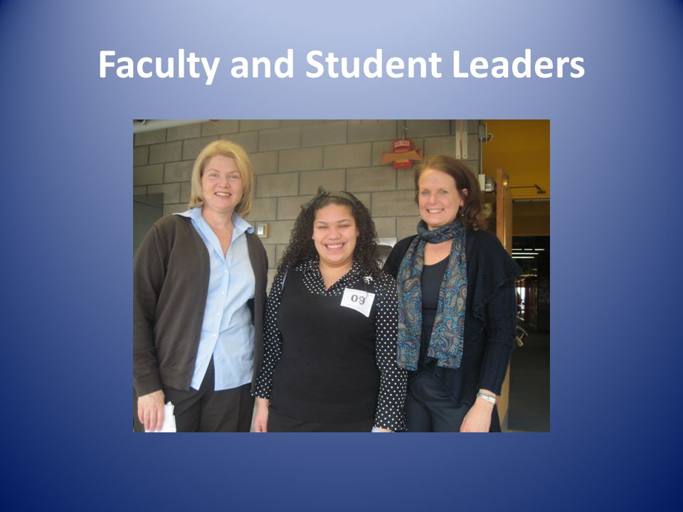 Faculty and Student Leaders