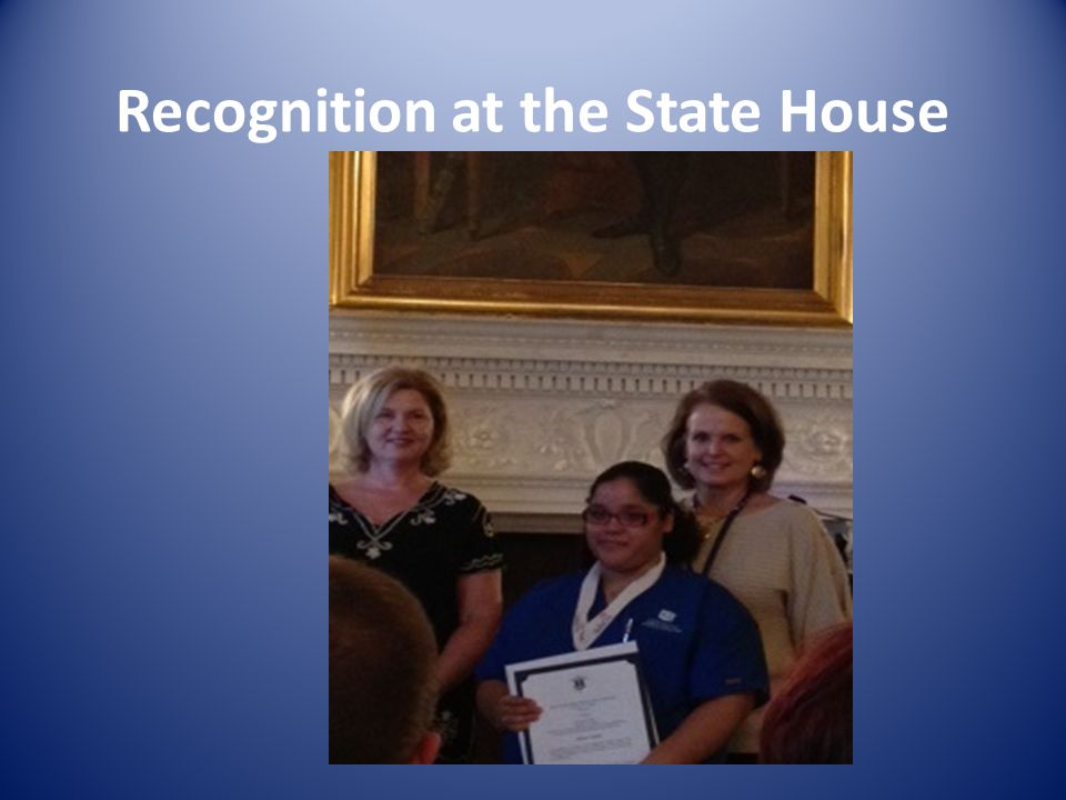 Recognition at the State House
