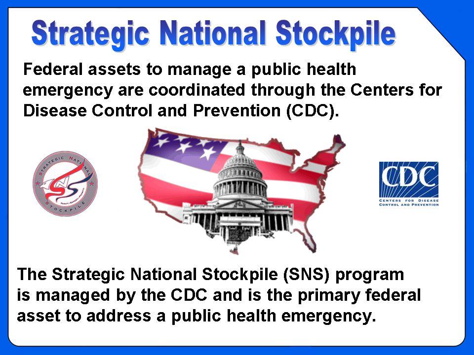 OVERVIEW – Strategic National Stockpile