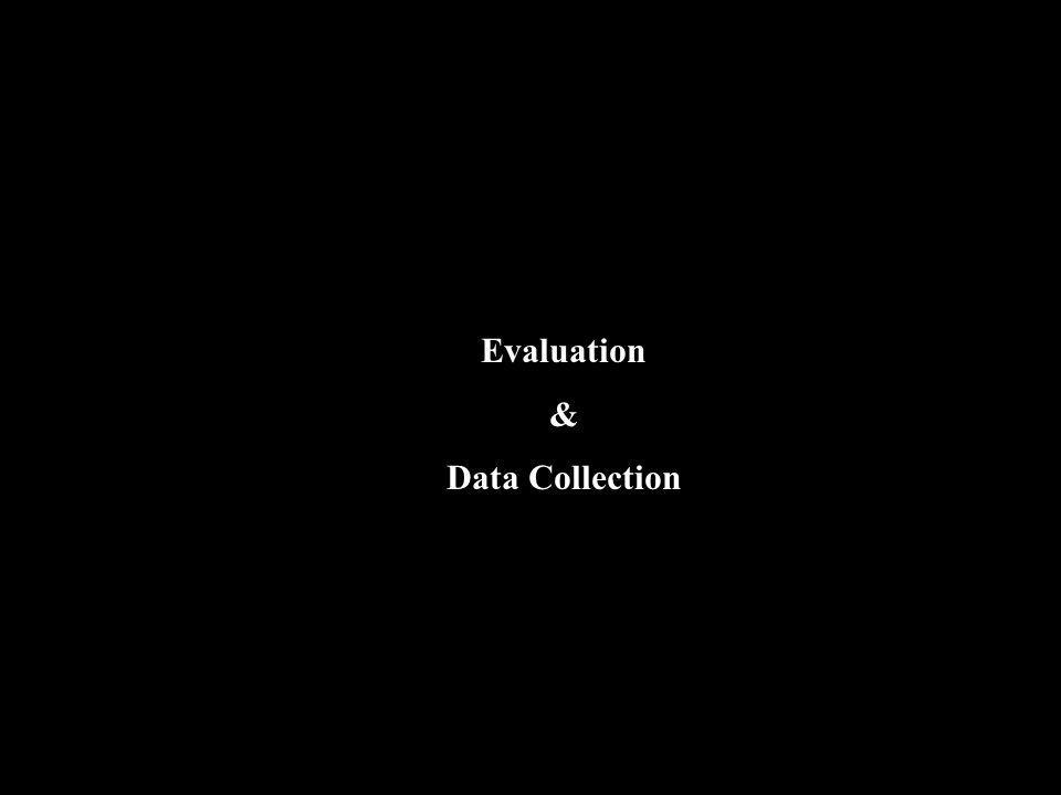 Evaluation & Data Collection