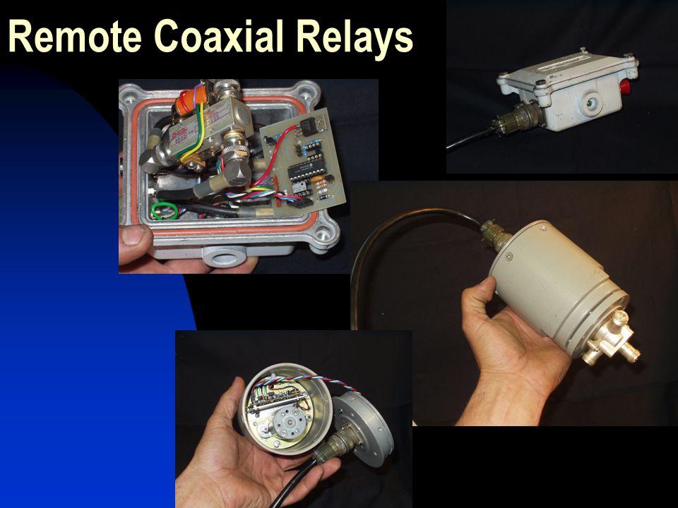 Remote Coaxial Relays