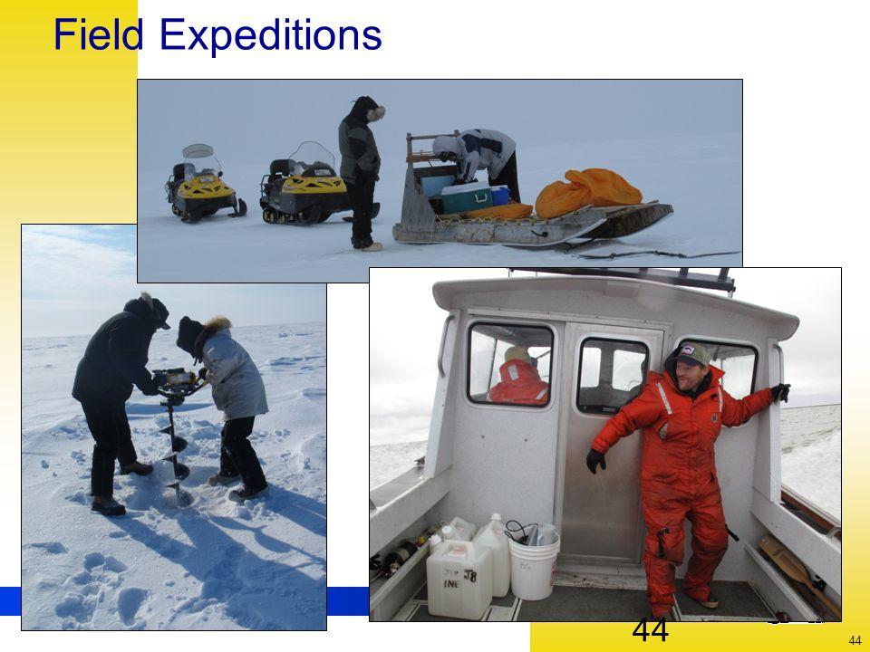 UNIVERSITY OF ALASKA FAIRBANKS 44 Field Expeditions 44
