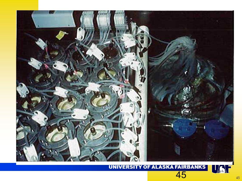 UNIVERSITY OF ALASKA FAIRBANKS 45
