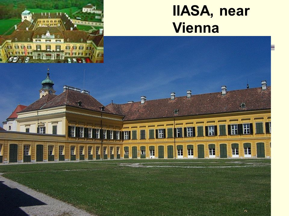 IIASA, near Vienna