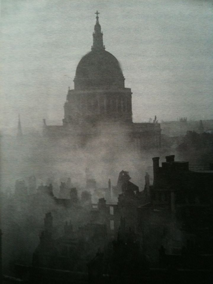 Londoners maintained that as long as St Pauls survived England would survive.