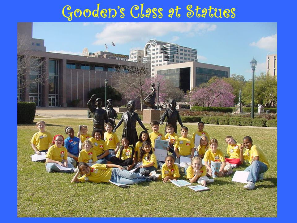 Gooden's Class at Statues