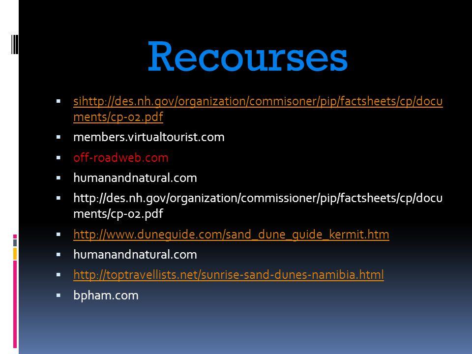 Recourses  sihttp://des.nh.gov/organization/commisoner/pip/factsheets/cp/docu ments/cp-02.pdf sihttp://des.nh.gov/organization/commisoner/pip/factshe