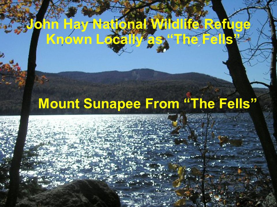 John Hay National Wildlife Refuge Known Locally as The Fells Mount Sunapee From The Fells
