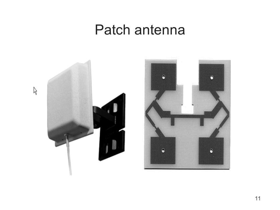 11 Patch antenna