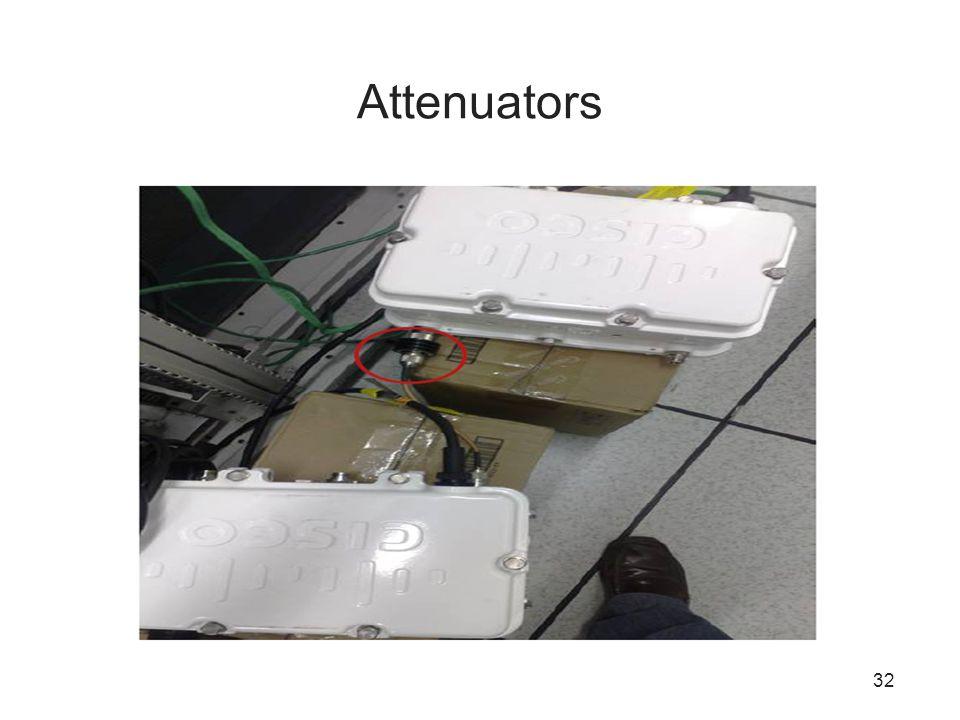 32 Attenuators