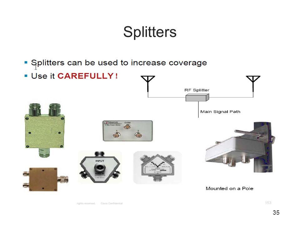 35 Splitters