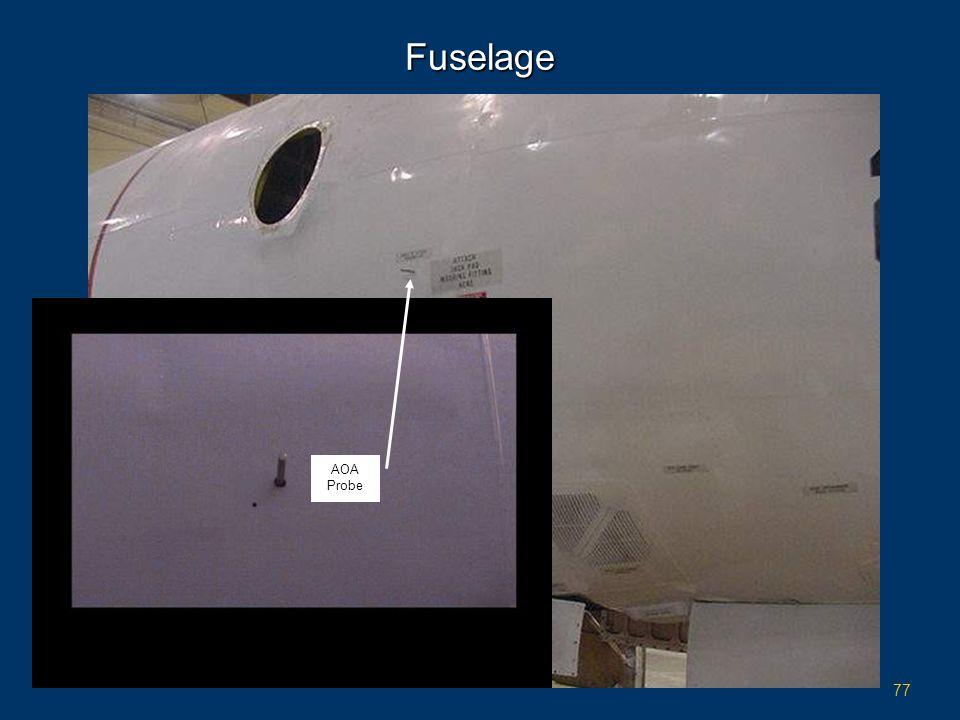 77 Fuselage AOA Probe