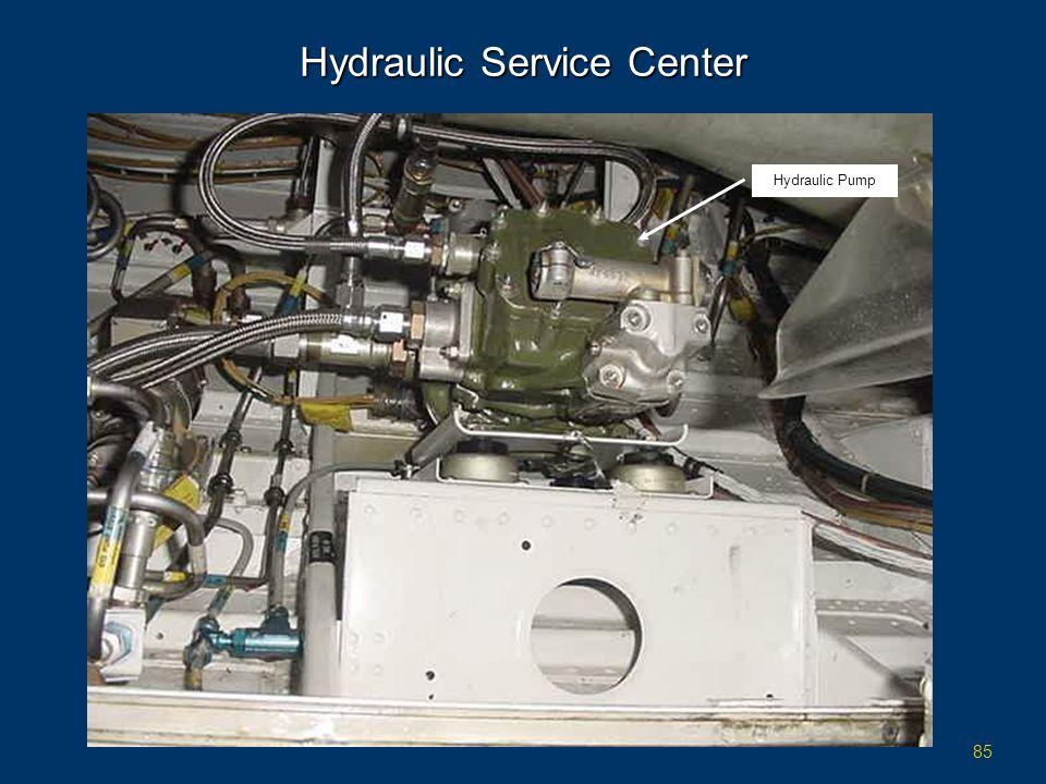 85 Hydraulic Service Center Hydraulic Pump